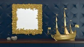 Der Marine Leben noch Lizenzfreies Stockfoto