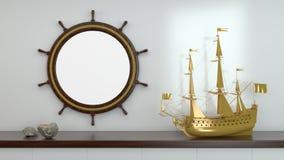Der Marine Leben noch Lizenzfreie Stockfotografie