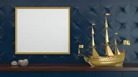 Der Marine Leben noch Lizenzfreie Stockfotos