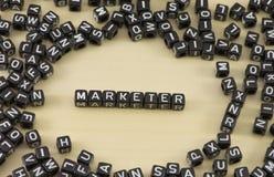 Der Marketingspezialist Stockfotos