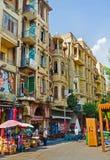 Der Markt in altem Kairo Lizenzfreie Stockfotografie