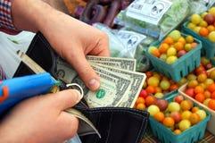 Der Markt des Landwirts Lizenzfreies Stockbild