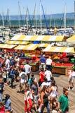 Der Markt Landwirts Sans Francisco Pier 39 Lizenzfreie Stockbilder