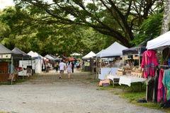 Der Markt Sonntag Morgen Port Douglas queensland australien lizenzfreie stockfotografie
