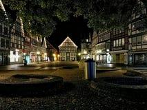 Der Marktplatz em Rinteln Imagens de Stock Royalty Free