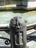 Der Marktplatz Navona mit seinen Brunnen durch Bernini und Della Porta in Rom Italien Lizenzfreies Stockfoto