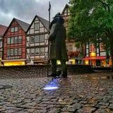 Der Marktplatz in Rinteln. Historic City Rinteln Germany Royalty Free Stock Image