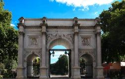 Der Marmorbogen, London, England Lizenzfreies Stockfoto