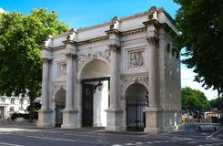 Der Marmorbogen, London, England Stockbild