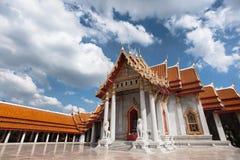 Der Marmortempel von Thailand Lizenzfreies Stockfoto