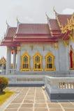Der Marmortempel, Wat Benchamabophit Dusitvanaram Bangkok stockfotos