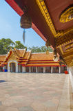 Der Marmortempel, Wat Benchamabophit Dusitvanaram Bangkok stockbild