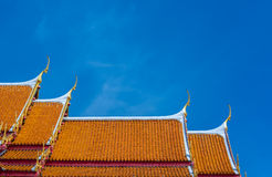 Der Marmortempel, Wat Benchamabopit Dusitvanaram in Bangkok, Th Stockfotos