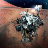 Der Mars Rover stockbild