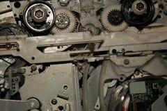 In der Maschine Stockbild