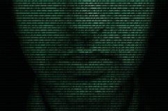 In der Matrix stockfotos