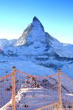 Der Matterhorn Stockbild