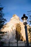 Der Matterhorn bei Disneyland Lizenzfreies Stockfoto