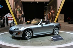 Der Mazda MX-5 Lizenzfreie Stockfotografie