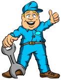 Der Mechaniker Lizenzfreie Stockfotos
