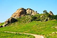 Der Megalith szenisch Lizenzfreies Stockfoto