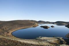 Der meiste schöne See in der Mitte von Icealnd Stockfoto