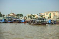 Der Mekong-Delta stockfotografie