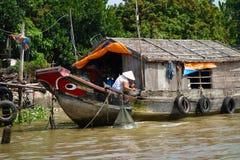 Der Mekong-Delta Stockfoto