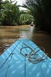 Der Mekong-Delta-Fluss Lizenzfreies Stockfoto