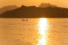 Der Mekong-Fischer Lizenzfreie Stockbilder