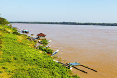 Der Mekong fließen durch Stockfotos