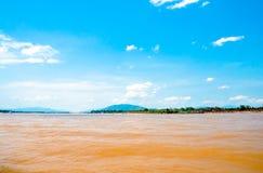 Der mekong-Fluss Lizenzfreie Stockfotos