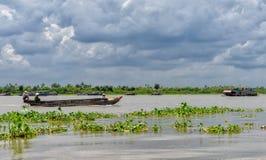 Der Mekong-Kreuzfahrt Stockbilder
