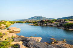Der Mekong-Landschaft Stockfoto