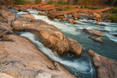 Der Mekong in Laos lizenzfreies stockfoto
