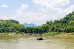 Der Mekong Luang Prabang Lizenzfreies Stockbild