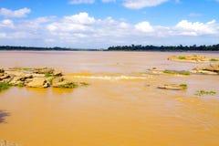 Der Mekong Rive und Riff Stockfoto