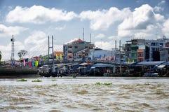 Der Mekong Vietnam Südostasien Stockfoto