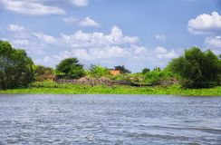 Der Mekong Vietnam Südostasien Stockbilder