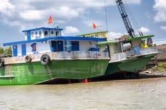 Der Mekong Vietnam Südostasien Stockfotografie