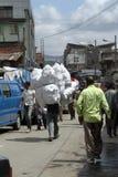 Der Mercato-Markt von Addis Ababa Stockfotos