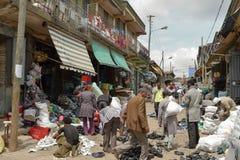 Der Mercato-Markt von Addis Ababa Stockfotografie