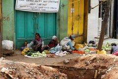 Der Mercato-Markt von Addis Ababa Stockfoto