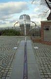 Der Meridian, Greenwich, England Stockfotografie