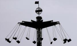 Der Merry-go-round stockfotografie