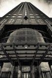 Der ` Messeturm-` Bleistift in Frankfurt am Main, Deutschland Lizenzfreie Stockfotos
