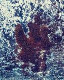 Der Miniaturschnee bedeckte Wald lizenzfreies stockfoto