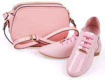 Der minimale Satz der Schönheiten Mode-Accessoires Lizenzfreies Stockfoto