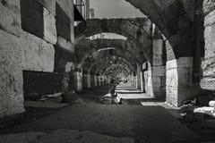 In der Mitte der alten Stadt Smyrna-Agoras, stockfoto