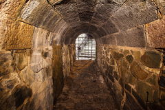 Der mittelalterliche Tunnel Lizenzfreies Stockbild